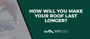 How Will You Make Your Roof Last Longer