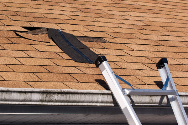 Storm Damaged Roofing